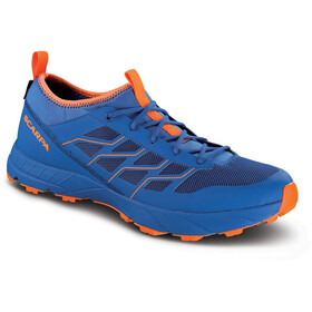 Scarpa Atom SL GTX Schoenen, turkish sea/orange fluo